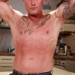 Butch Dixon Big T British Muscle Daddy With A Big Uncut Cock Amateur Gay Porn 01 150x150 British Muscle Daddy Jerking Off His Big 9