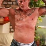 Butch Dixon Big T British Muscle Daddy With A Big Uncut Cock Amateur Gay Porn 03 150x150 British Muscle Daddy Jerking Off His Big 9