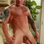 Butch Dixon Big T British Muscle Daddy With A Big Uncut Cock Amateur Gay Porn 14 150x150 British Muscle Daddy Jerking Off His Big 9