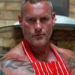Butch Dixon Big T British Muscle Daddy With A Big Uncut Cock Amateur Gay Porn 26 150x150 British Muscle Daddy Jerking Off His Big 9