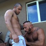 Dudes Raw Alessio Romero and Mario Cruz Bareback Muscle Daddy Latino Amateur Gay Porn 07 150x150 Muscle Daddy Alessio Romero Gets Bred By Mario Cruz