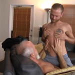 Bareback Me Daddy Silver Daddy Barebacks Younger Guy Amateur Gay Porn 02 150x150 Getting Barebacked By A Thick Daddy Dick