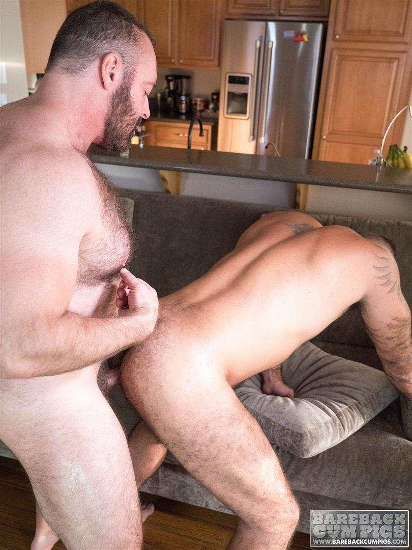image Hairy gay daddy fucks young boy a proper