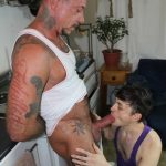 Cum Pig Men Ray Dalton Daddy Gets His Big Cock Sucked 07 150x150 Sucking The Cum Out Of A Big Thick Daddy Cock