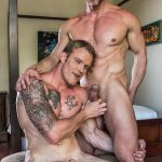 Lucas Entertainment Shawn Reeve and Tomas Brand Bareback Daddy Sex 02 150x150 Bareback Riding A Thick Uncut Daddy Dick