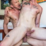 Lucas Entertainment Shawn Reeve and Tomas Brand Bareback Daddy Sex 11 150x150 Bareback Riding A Thick Uncut Daddy Dick