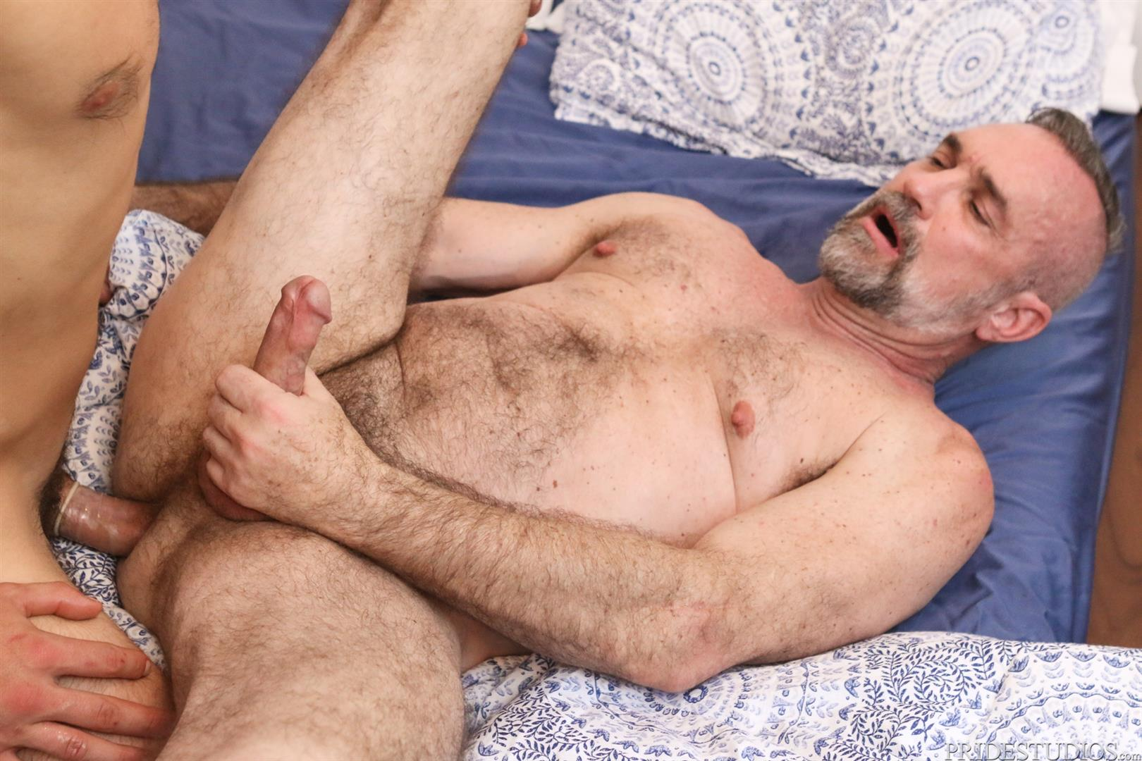 Dylan-Lucas-Dante-Colle-and-Peter-Rough-Hairy-Daddy-Getting-Fucked-14 Hairy Daddy Gets Fucked By Dante Colle For His Birthday