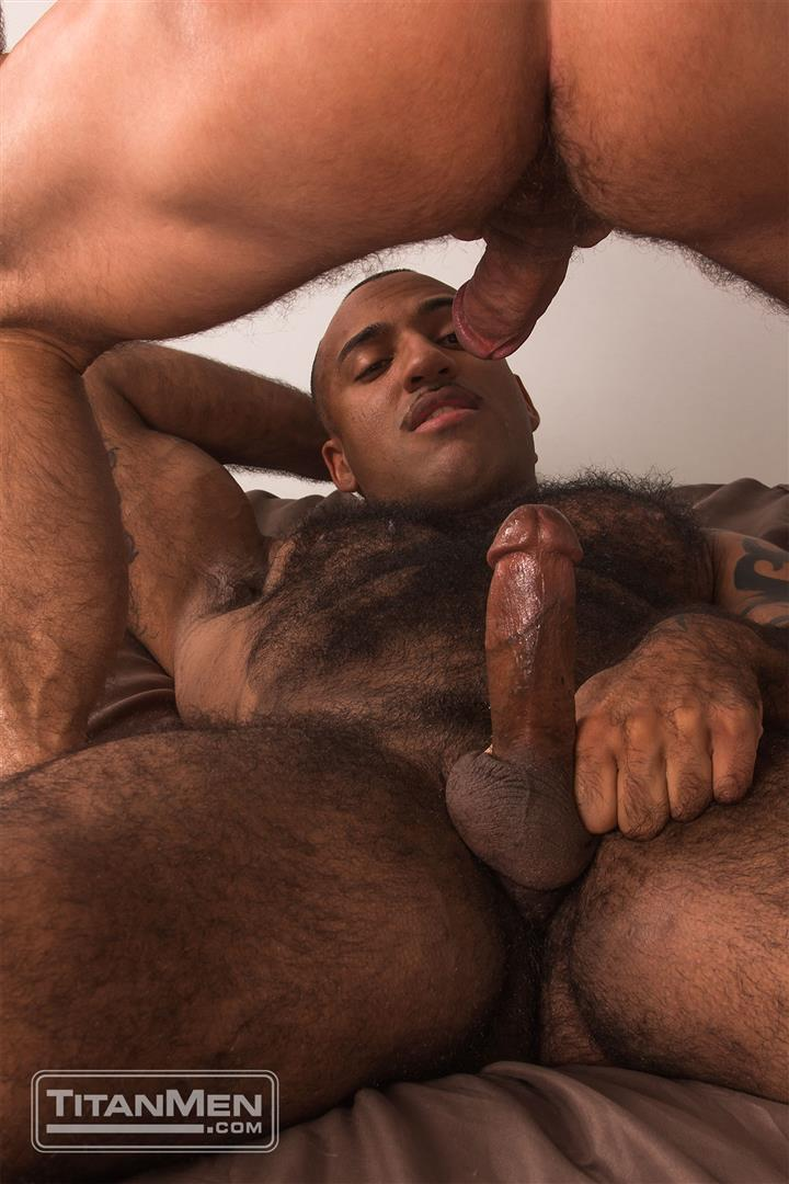 Titan-Men-Dirk-Caber-and-Daymin-Voss-Hairy-Muscle-Daddy-and-Big-Black-Dick-Fucking-43 Hairy Muscle Daddy Dirk Caber Flip Fucking With Hairy Black Muscle Hunk Daymin Voss