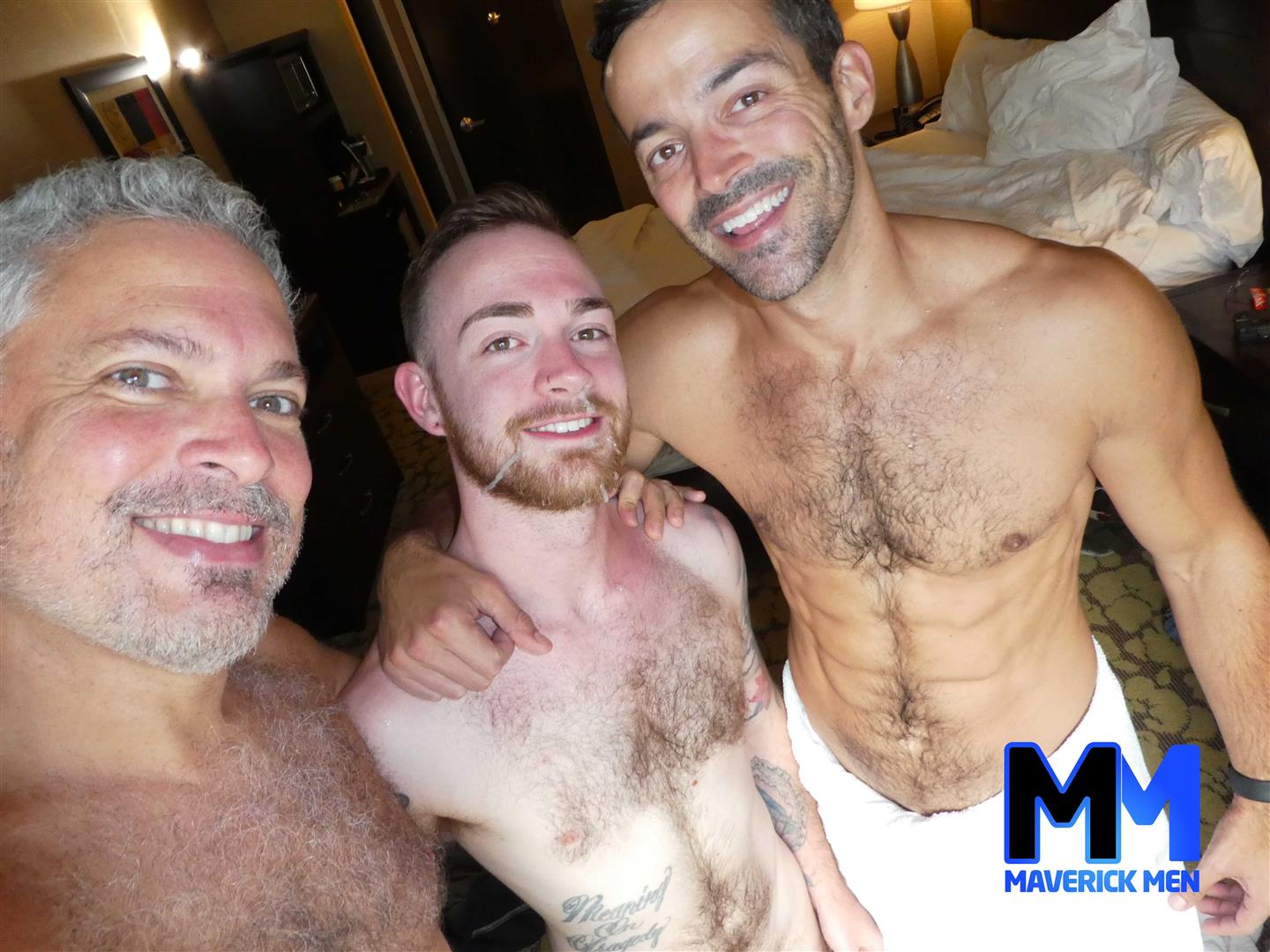 Maverick-Men-Chase-Thick-Dick-Daddies-Bareback-Fucking-Young-Hairy-Guy-7 The Maverick Men Daddies Fill A Hot Young Hairy Ass Full Of Cum