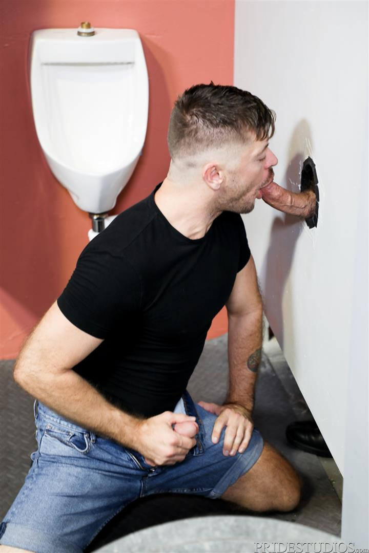 Men-Over-30-Joe-Parker-and-Jack-Andy-Sucking-Daddy-Dick-At-A-Gloryhole-02 Sucking A Thick Daddy Cock At A Gloryhole In A Public Bathroom
