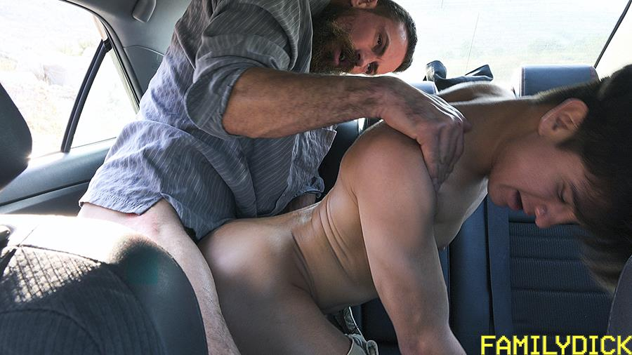 Family-Dick-Josh-Farley-and-Max-Ferro-Thick-Daddy-Dick-Fucking-Stepson-Bareback-13 Daddy Max Ferro Fills His Stepson Josh Hunter's Ass Full Of Cum
