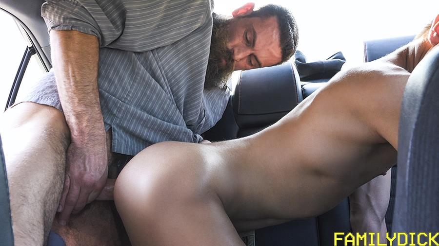 Family-Dick-Josh-Farley-and-Max-Ferro-Thick-Daddy-Dick-Fucking-Stepson-Bareback-14 Daddy Max Ferro Fills His Stepson Josh Hunter's Ass Full Of Cum