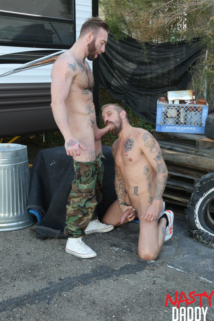 Nasty-Daddy-Manuel-Salco-and-Stephan-Raw-Big-Uncut-Dick-Daddies-Bareback-Sex-06 Big Uncut Dick Daddies Fucking Bareback At A Junkyard
