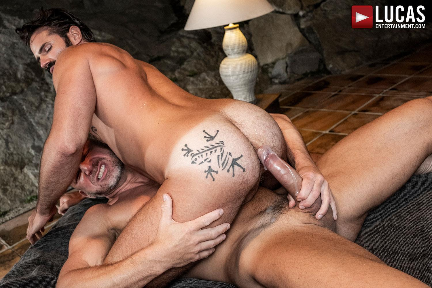 Lucas-Entertainment-Tomas-Brand-and-Dani-Robles-Big-Dick-Daddy-Barebacking-Younger-18 Muscle Daddy Tomas Brand Breeds Dani Robles With His Big Uncut Cock