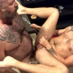 Muscle-Bear-Porn-Will-Angell-and-Sean-Maygers-Hairy-Muscle-Daddy-Breeding-Boy-3-150x150 Daddy Will Angell Breeds His Boy Sean Maygers In The Sling